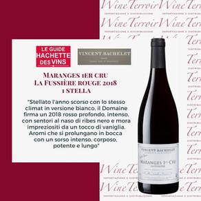 1 stella Hachette per Vincent Bachelet Maranges 1er Cru La Fussiere