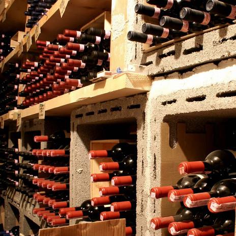 Ombre Rosse Parma Enoteca Ristorante - Dettaglio cantina vini