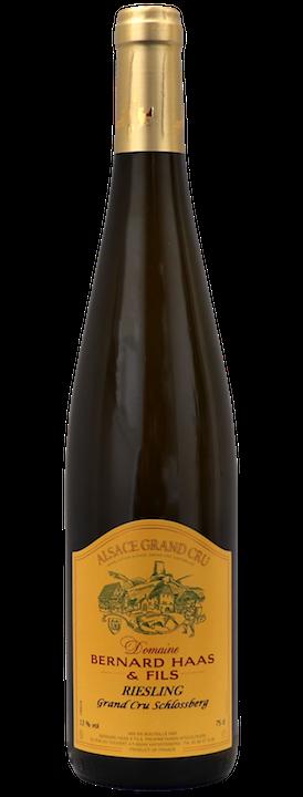 bottiglia di vino importazione distribuzione riesling grand cru schlossberg domaine bernard haas abbinamento cibo vino cucina giapponese