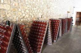 Champagne Huiban - Pupitre per il remuage manuale