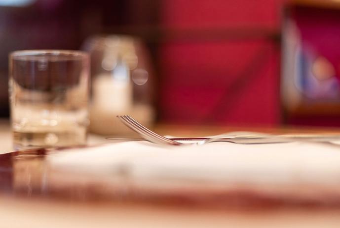 Ombre Rosse Parma Enoteca Ristorante - Dettaglio tavola