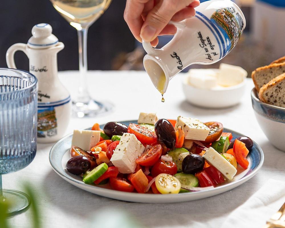 cucina greca abbinamento cibo vino wine terroir importazione