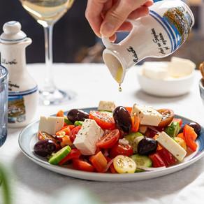 La cucina greca, tra Mediterraneo ed erbe aromatiche  - Proposte d'abbinamento