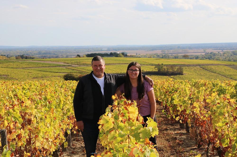 vigne a pouilly-fume di Domaine Dominique et Mallorie Pabiot