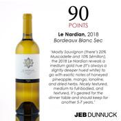 JCP Maltus, Le Nardian Bordeaux Blanc Sec 2018 - Jeb Dunnuck