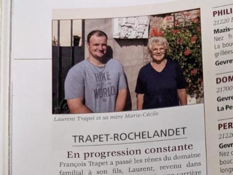 Domaine Trapet-Rochelandet, l'intervista di Bourgogne Aujourd'hui n.155