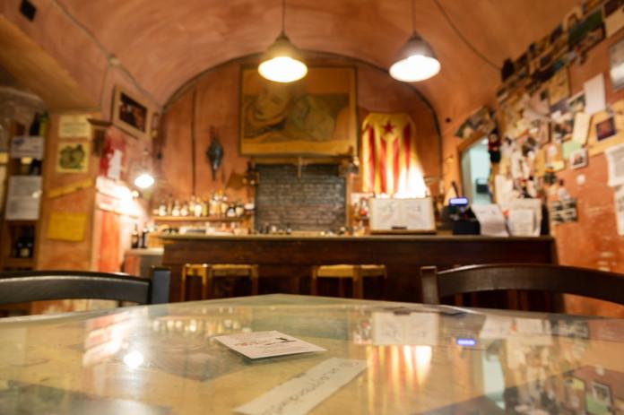Ombre Rosse Parma Enoteca Ristorante - Sala principale enoteca