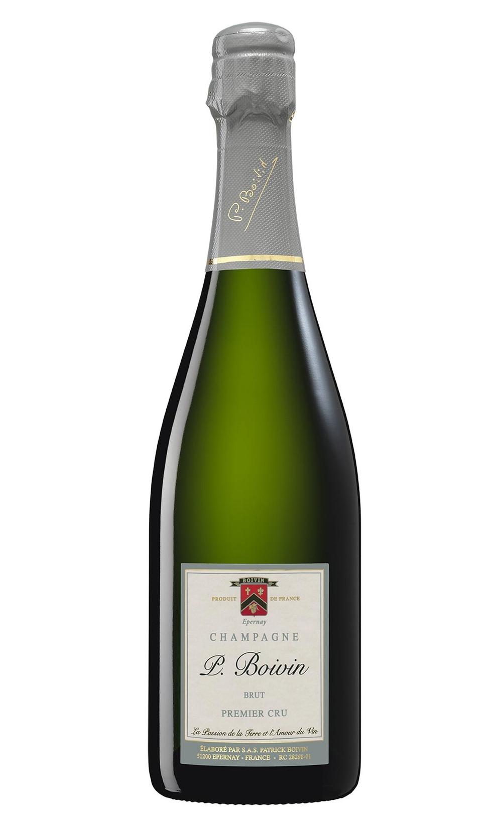 Champagne Blanc de Blanc Premier Cru Brut Maison Patrick Boivin, Wine Terroir Importazione Distribuzione Vino
