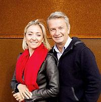 Hélene Garcin e Patrice Lévèque