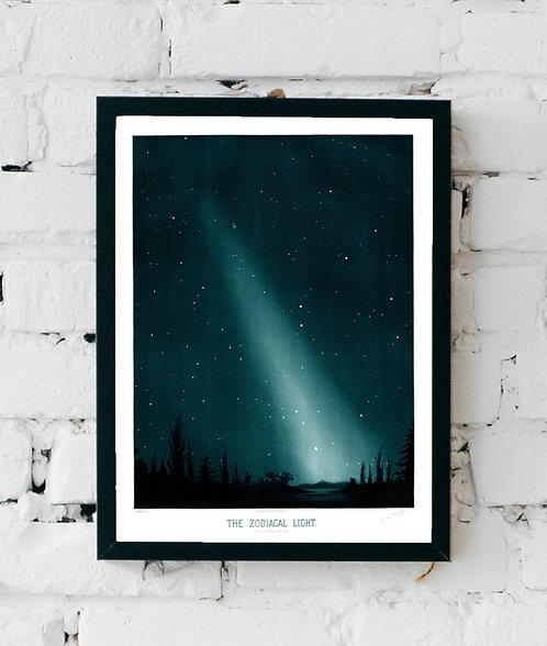 Etienne Trouvelot   The Zodiacal Light   A3 Art Print