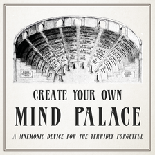 Create Your Own Mind Palace: A Mnemonic Device For The Terribly Forgetful