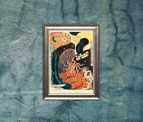 William Saville-Kent | Great Barrier Reef Collection | A3 Art Print