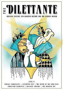 The Dilettante Magazine Cover 1920s illustration