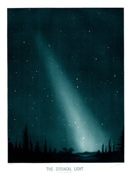 Etienne Trouvelot  The Zodiacal Light  A3 Art Print The .jpg