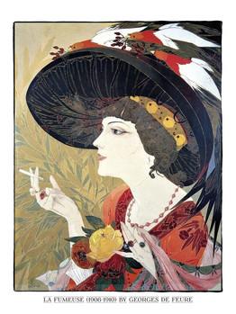 La Fumeuse 1908-1910 by Georges de Feure.jpg