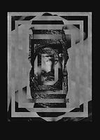 Madame Glitch A3 Print by Martin Rayment