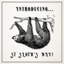 Introducing St Sloth's Day: A new holiday to perk up January