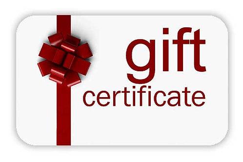 $10 Janoski Gift Certificate