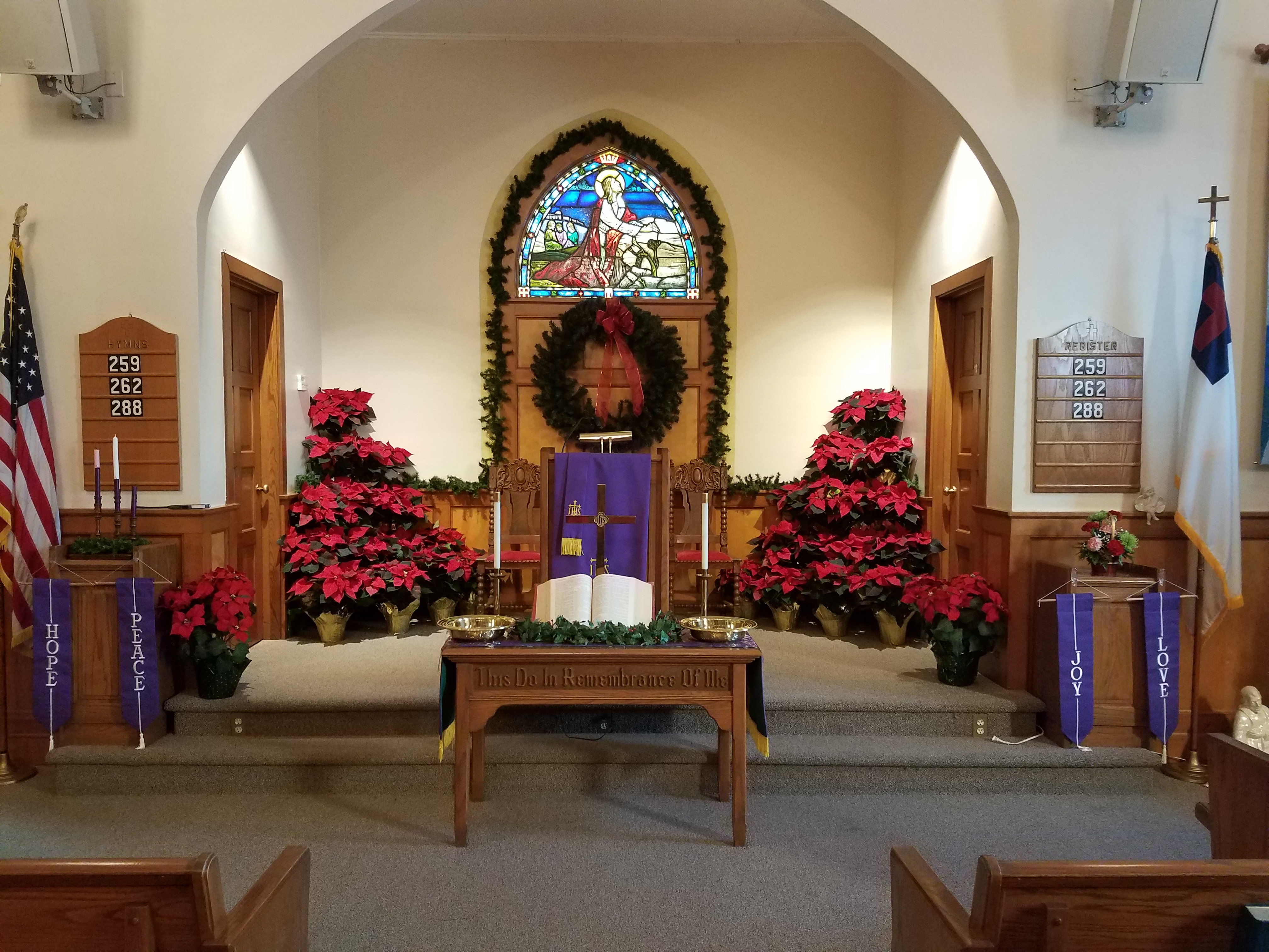 Church Christmas Eve