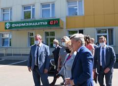 Руководитель ФМБА России Вероника Скворцова, посетила с рабочим визитом ФГУП НПЦ Фармзащита