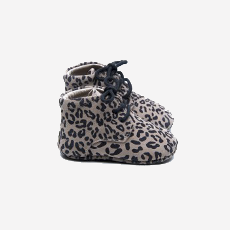 Mavies Boots Leopard Gray