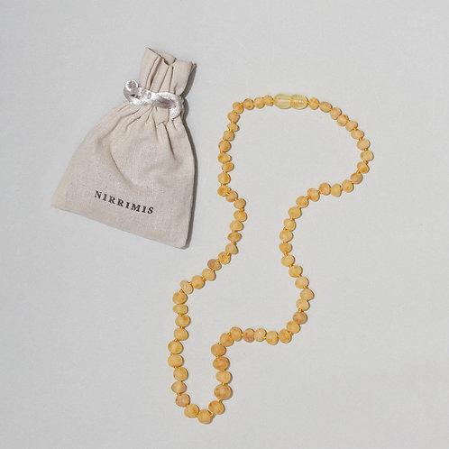 Nirrimis Raw Honey Kids Necklace
