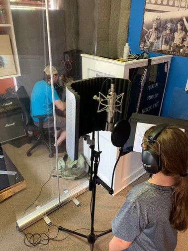Socially Distant Recording