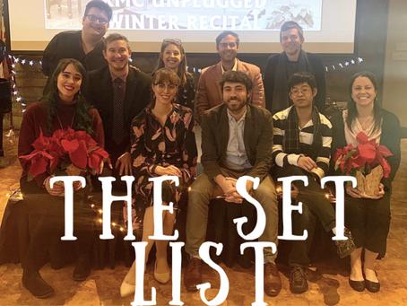 The Set List - Dec '19