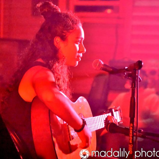 """Mila performing """"Teardrops on My Guitar"""""""