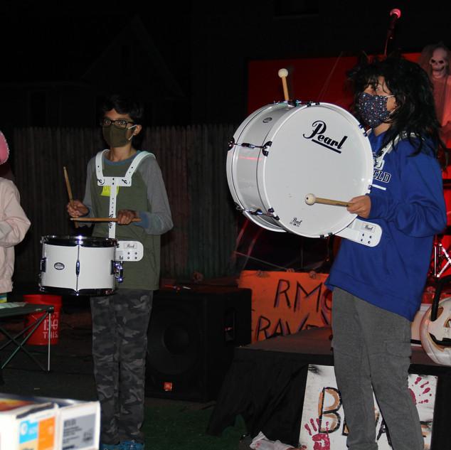"RMC's Drumline performing ""Thriller"""
