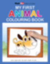 My First Animals Colouring Book