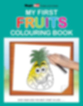 My First Fruits Colouring Book