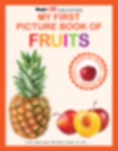 My First Picture Book Of Fruits