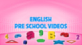 Pre School English