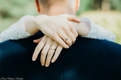 Detale, pierścionek