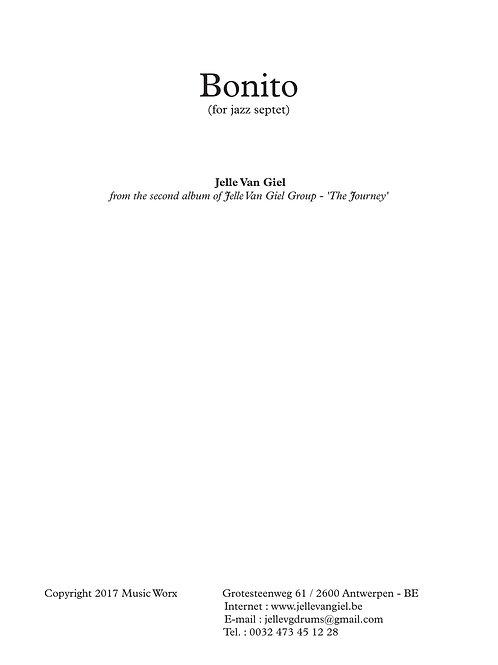 Bonito for jazz septet