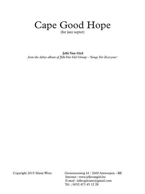 Cape Good Hope for jazz septet