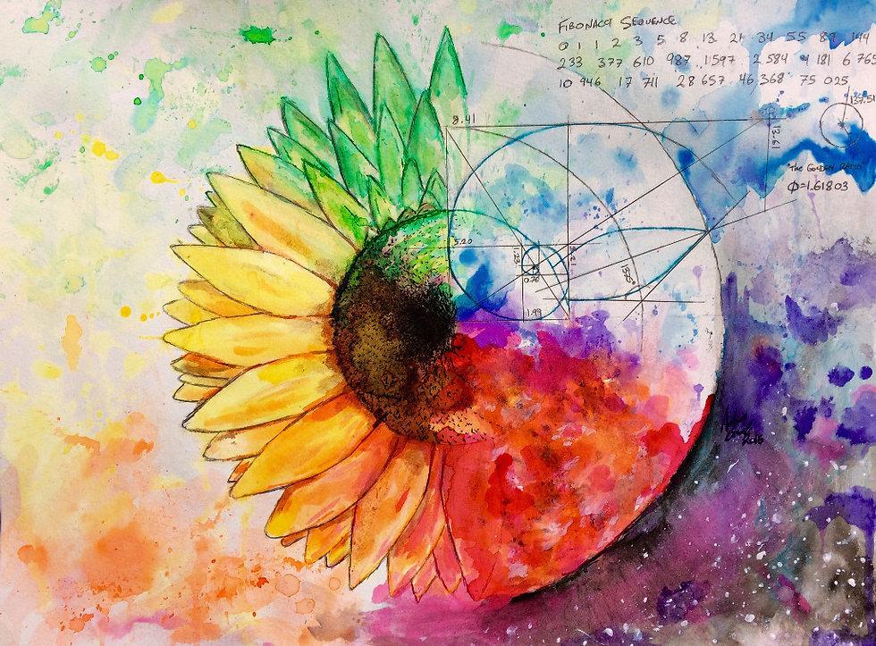 Adrian Ink Sunflower