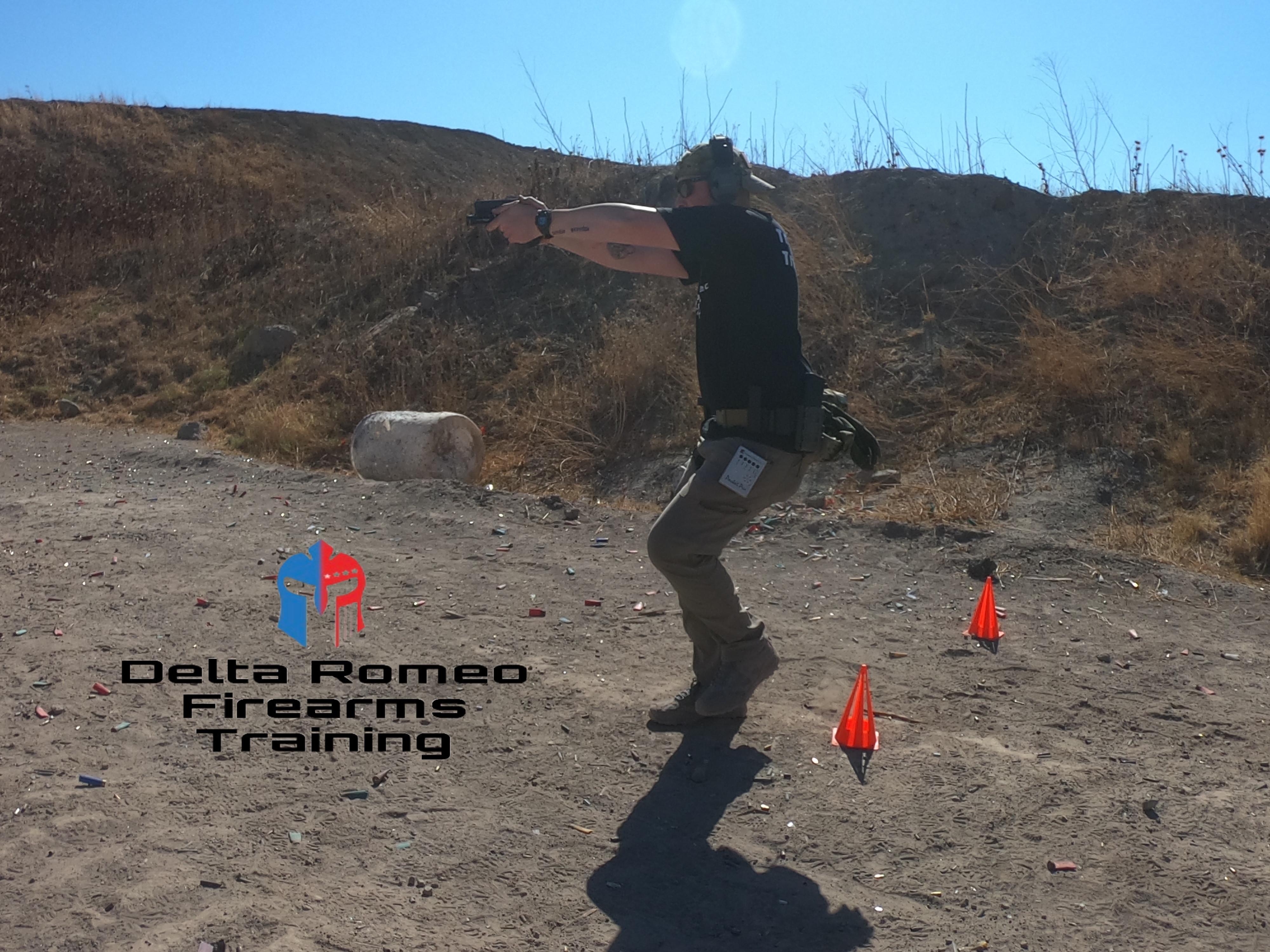 Level 3 defensive pistol