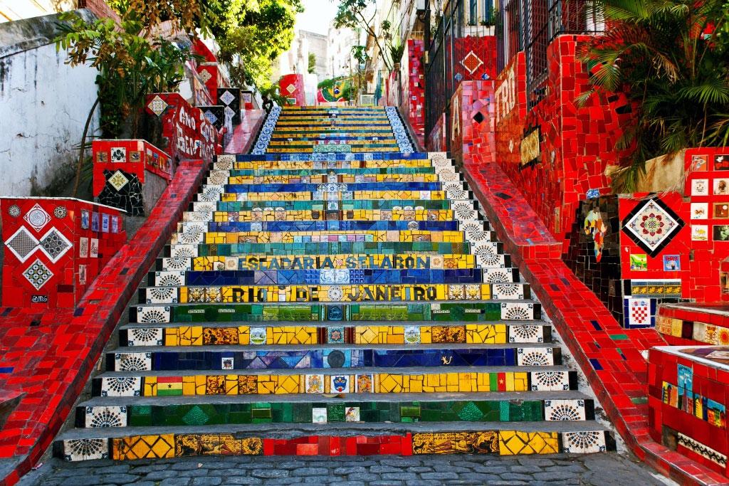빨간 계단