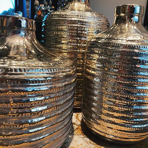 Gold Porcelain Vase