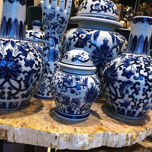 Delfts blauwe pot 20
