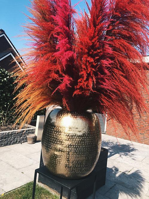 Vase gold XL