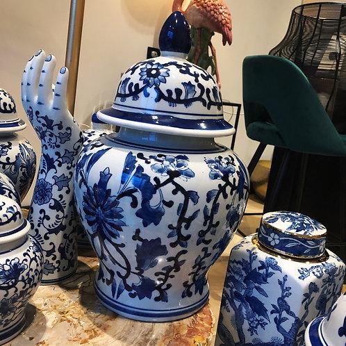 Delfts blauwe pot 45