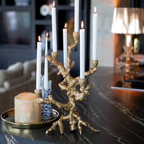 Candle holder apple tree
