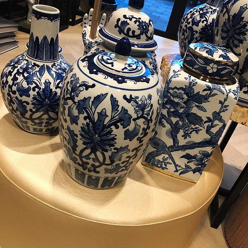 Delfts blauwe pot 30