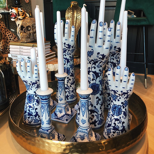 Candle Delftsblauw