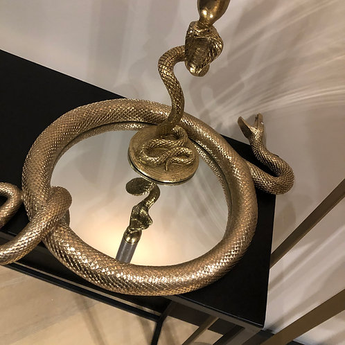 Snake candle