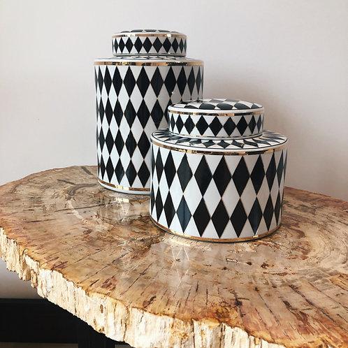 Chess Porcelain black/white