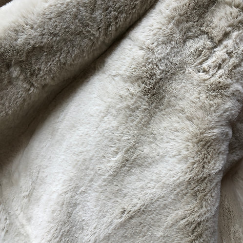 Plaid Faux Fur